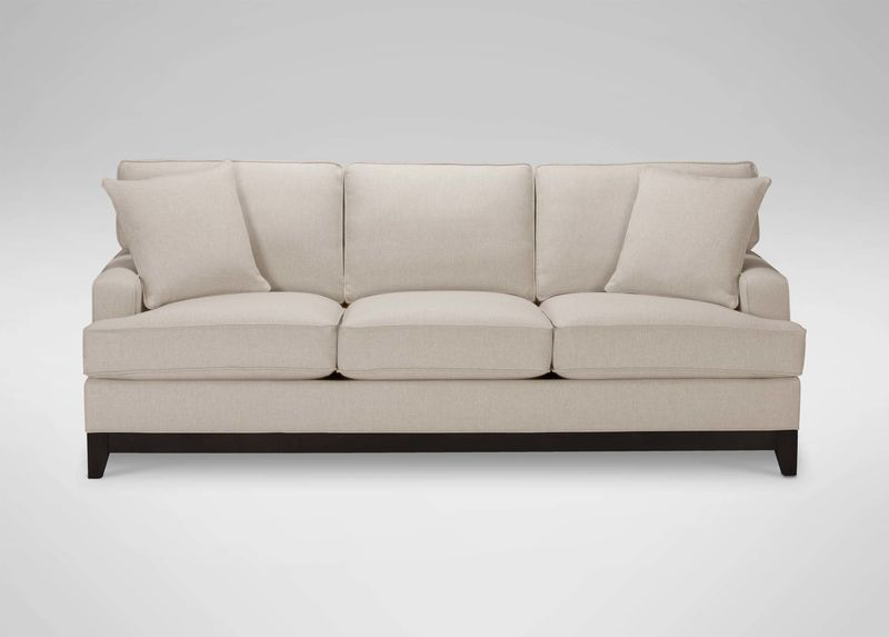 Arcata Sofa Quick Ship 4 Lengths Available Shown In Oatmeal