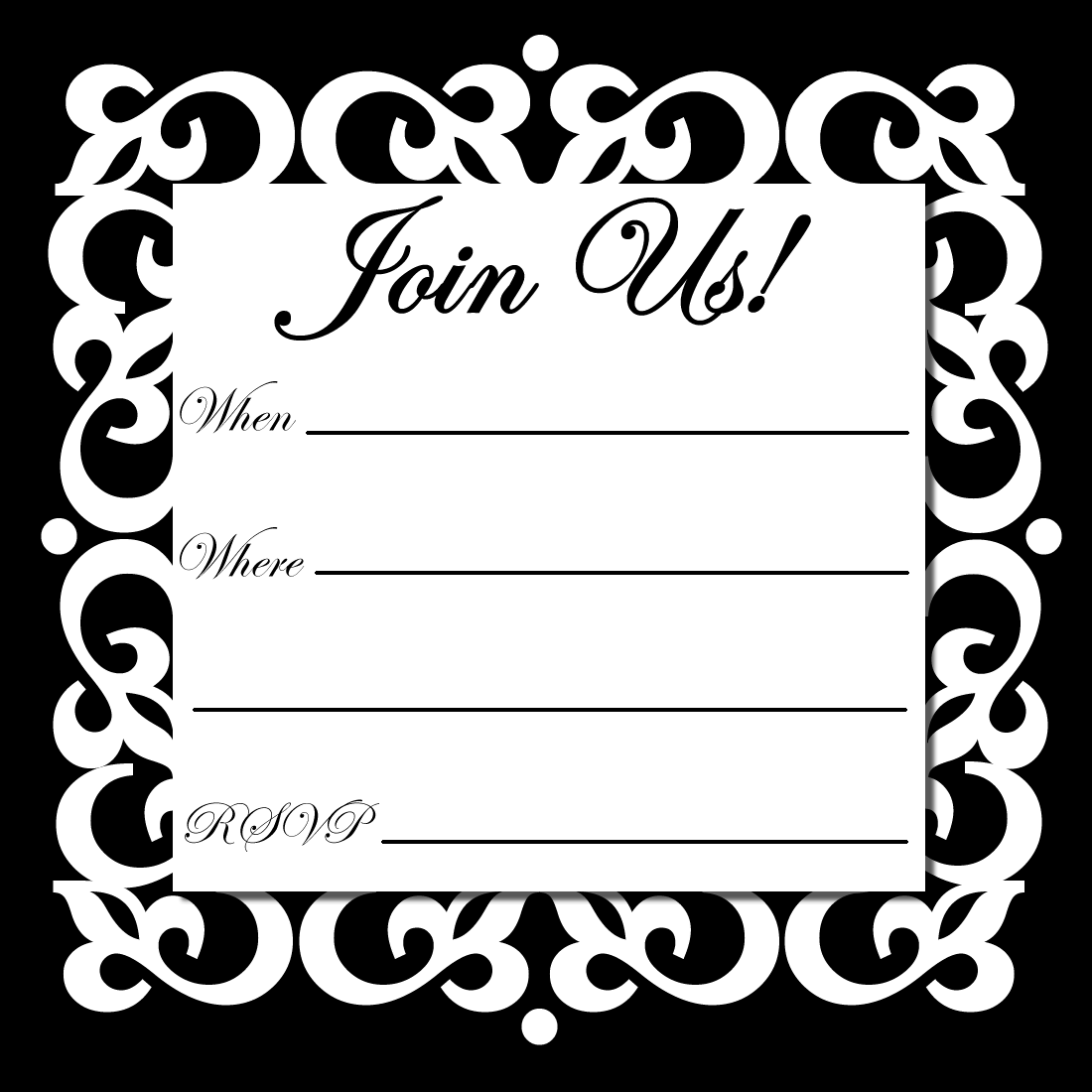 Free Online Printable Party Invitations Party Invite Template Party Invitations Printable Birthday Party Invitation Templates