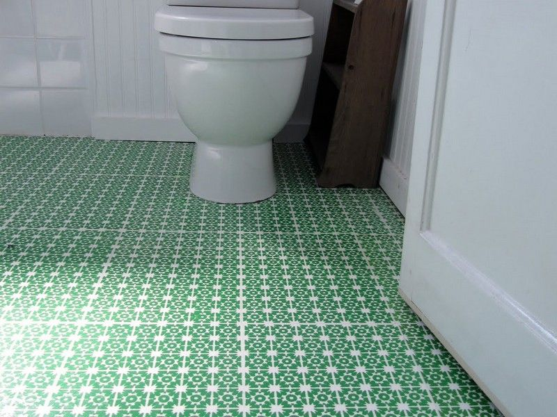 Vinyl Flooring Ideas For Small Bathroom Home Design Ideas  Salle Captivating Small Bathroom Flooring Design Ideas