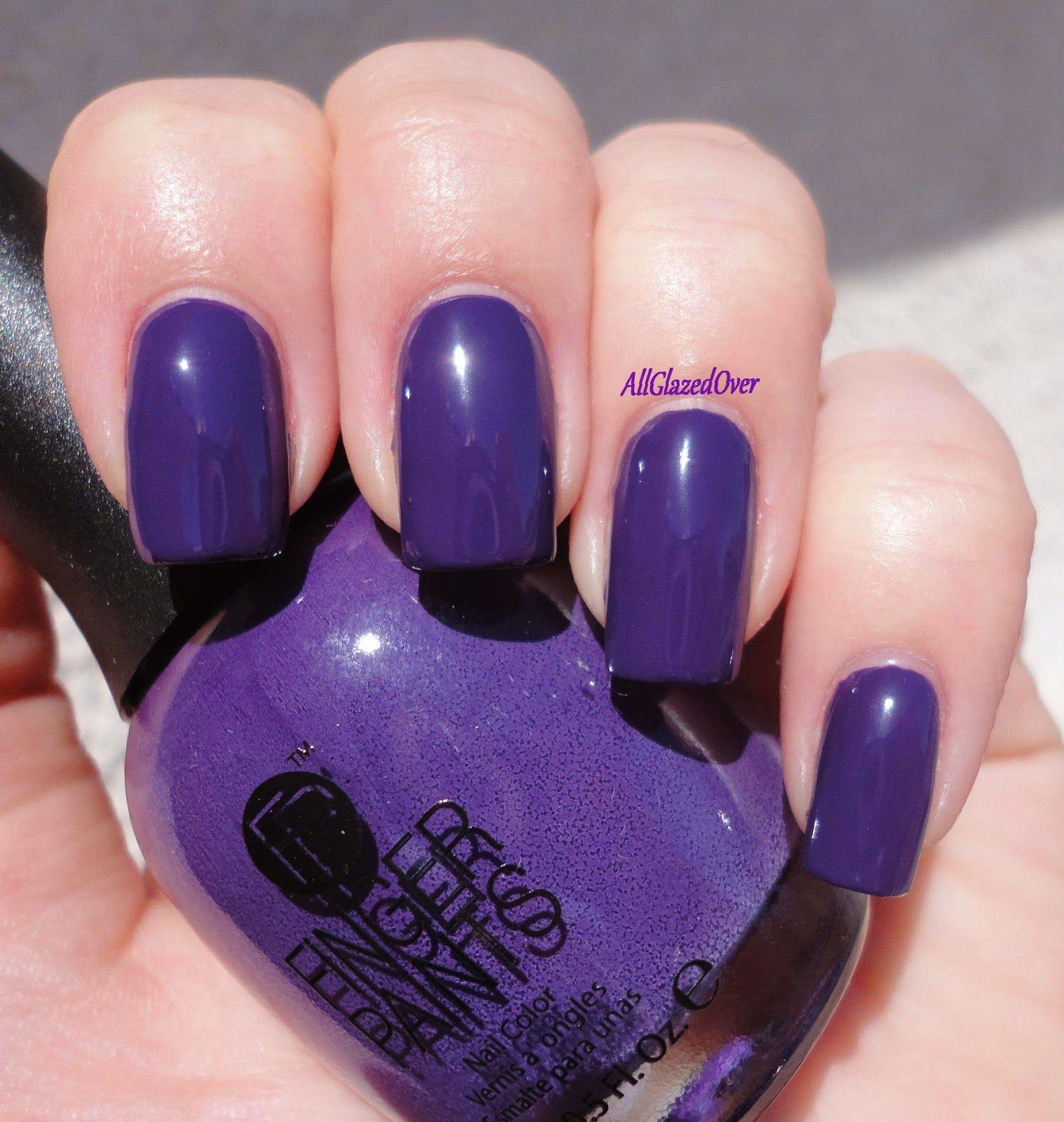 Fingerpaints picturesque purple my nail polish collection so