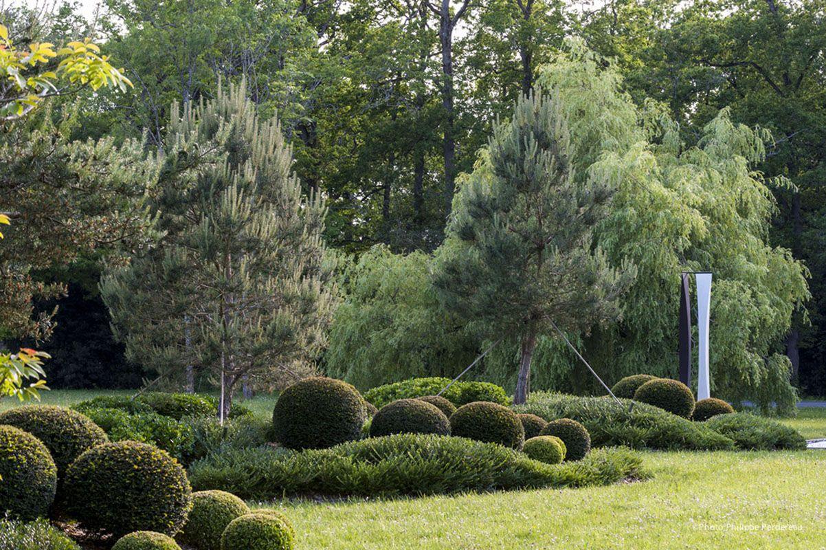 jardin-ancien-marais-mur-srtucturer-espace-allee-schiste-beton-cepee ...