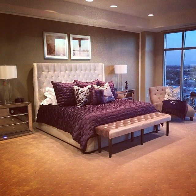 The 25+ Best Romantic Purple Bedroom Ideas On Pinterest