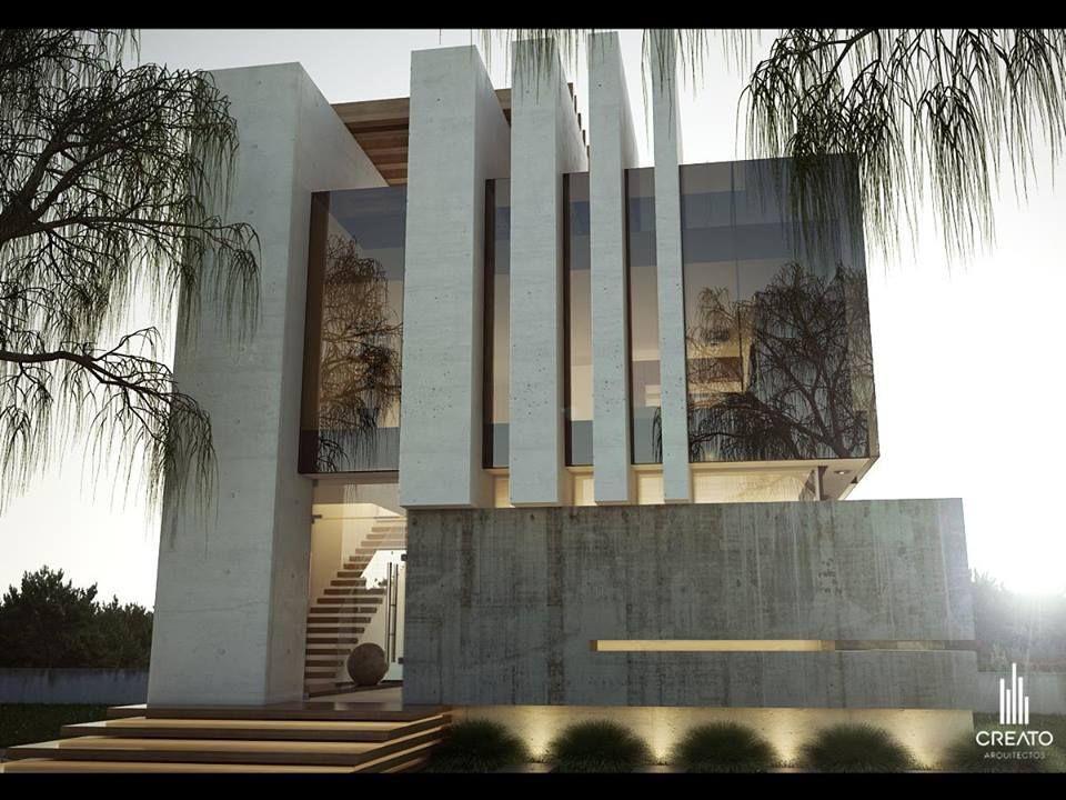 Creato arquitectos ideen rund ums haus pinterest for Moderne villen grundriss