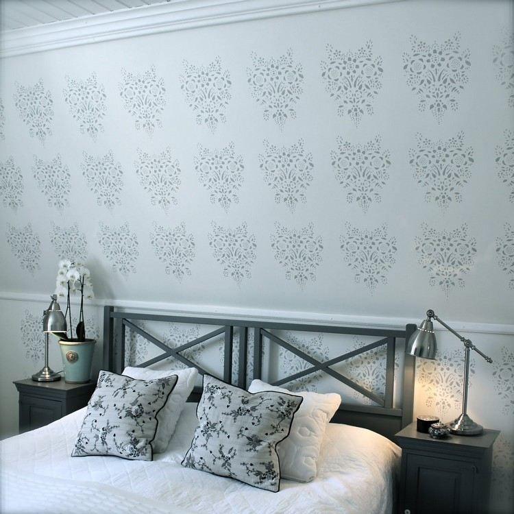 Wand Streichen Muster Und 65 Ideen Fur Einen Neuen Look In 2020 Haus Deko Wand Streichen Muster Wande Streichen