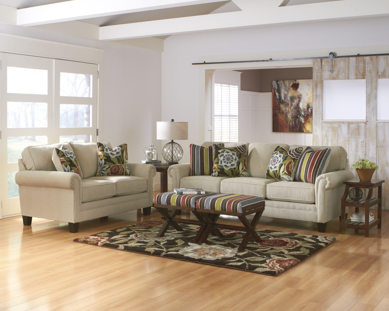 Linen Ballari Sofa And Loveseat