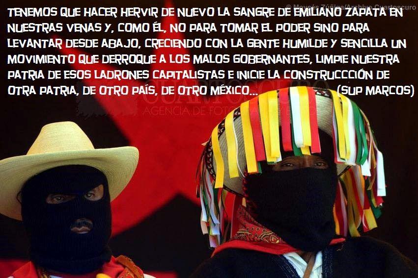 En la FFyL-UNAM: Acto sobre situación actual EZLN y homenaje al compañero Galeano. (Mayo 30, 2pm, Salón 008)