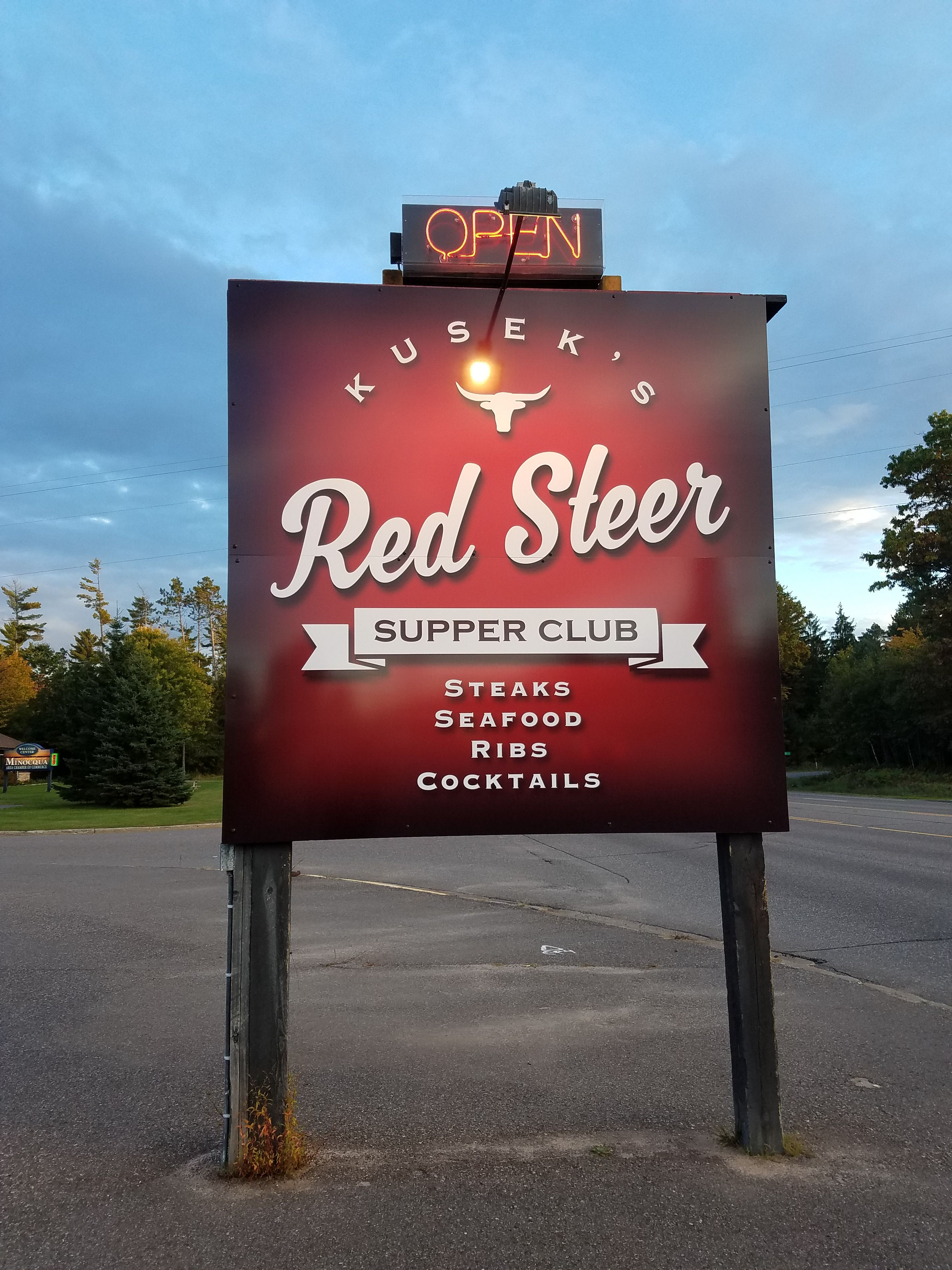 The Red Steer Minocqua WI Oct 2016 Supper Club Tour