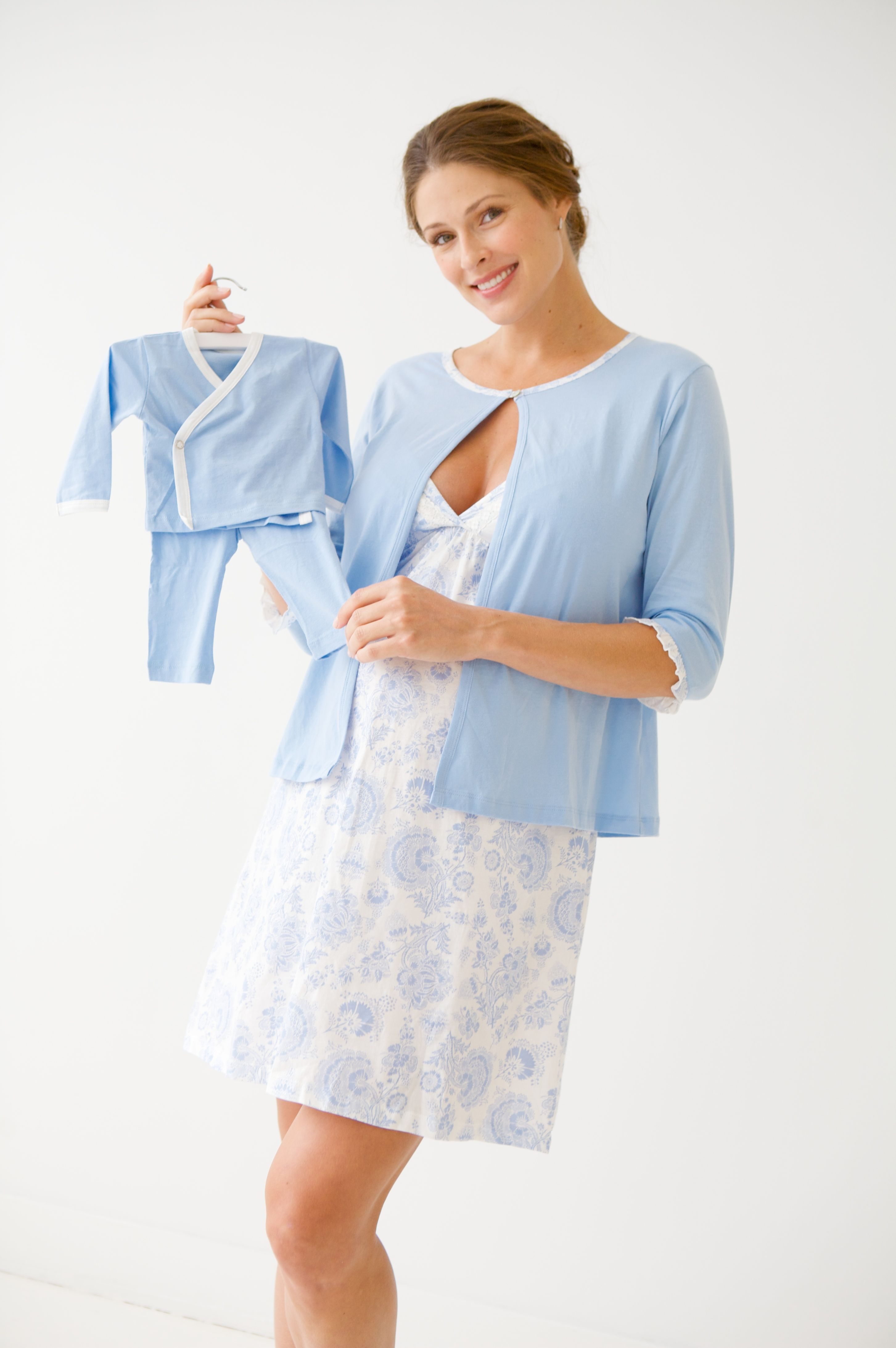 Uniform lingerie mom