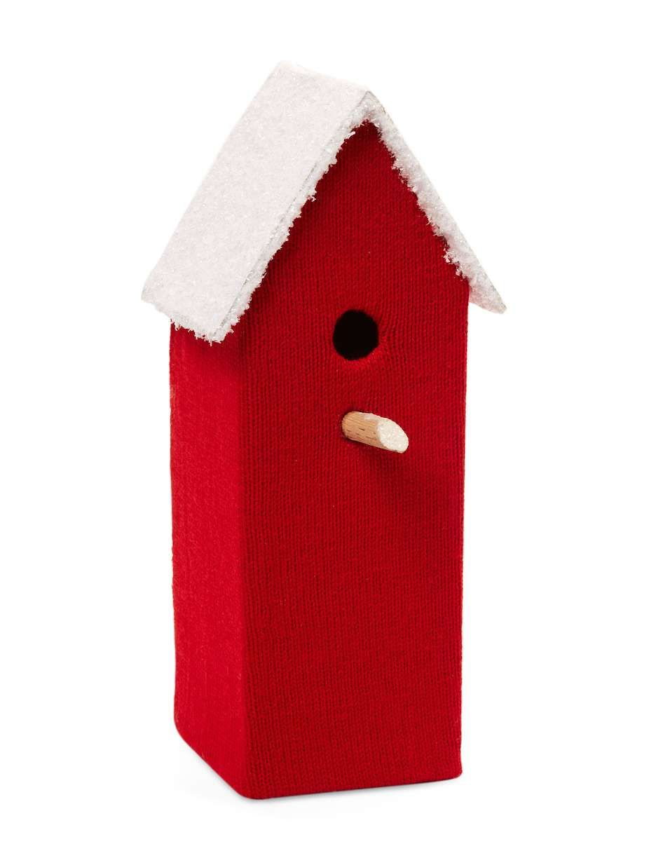 Gilt Home Collection Snowed Birdhouse Snowed Birdhouse ...