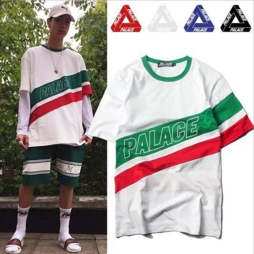 a832ce41ca1c Men and women s Palace triangle logo hip-hop skateboard cotton polychrome  T-shir  fashion  clothing  shoes  accessories  mensclothing  shirts (ebay  link)