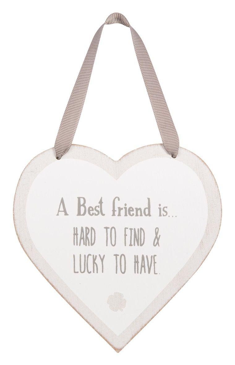 Primark - Placa Friends em forma de coração