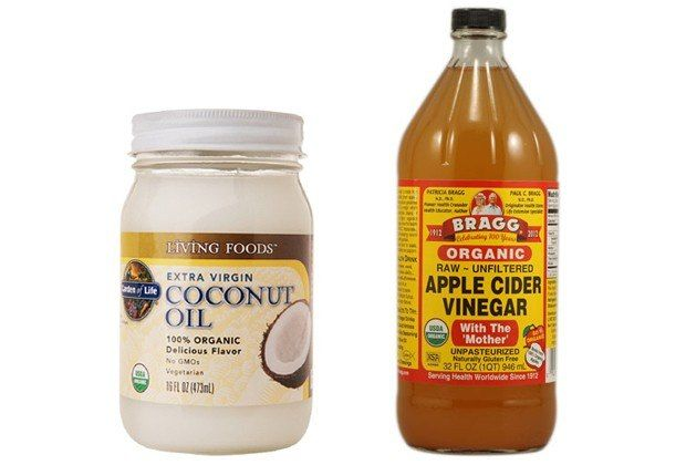 Apple cider vinegar to remove product build up and