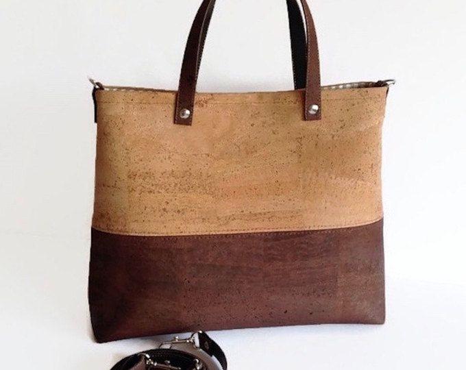 para bandolera regalo bolso ecológico vegano mujeres las Corcho qXO5xwUIw