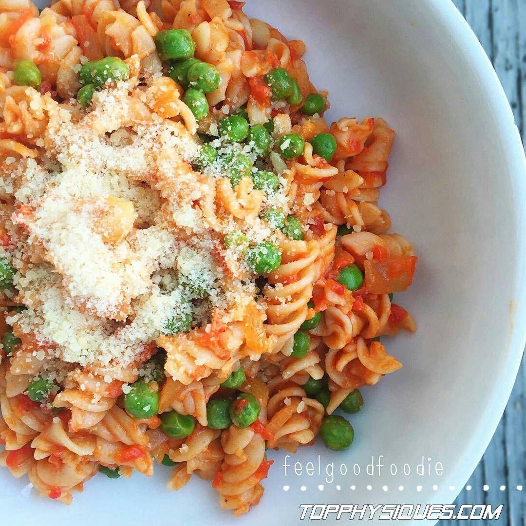 Quinoa Pasta Marinara with Peas Quinoa Fusilli pasta (or choice) 1 jar (8 oz) br...-#choice1
