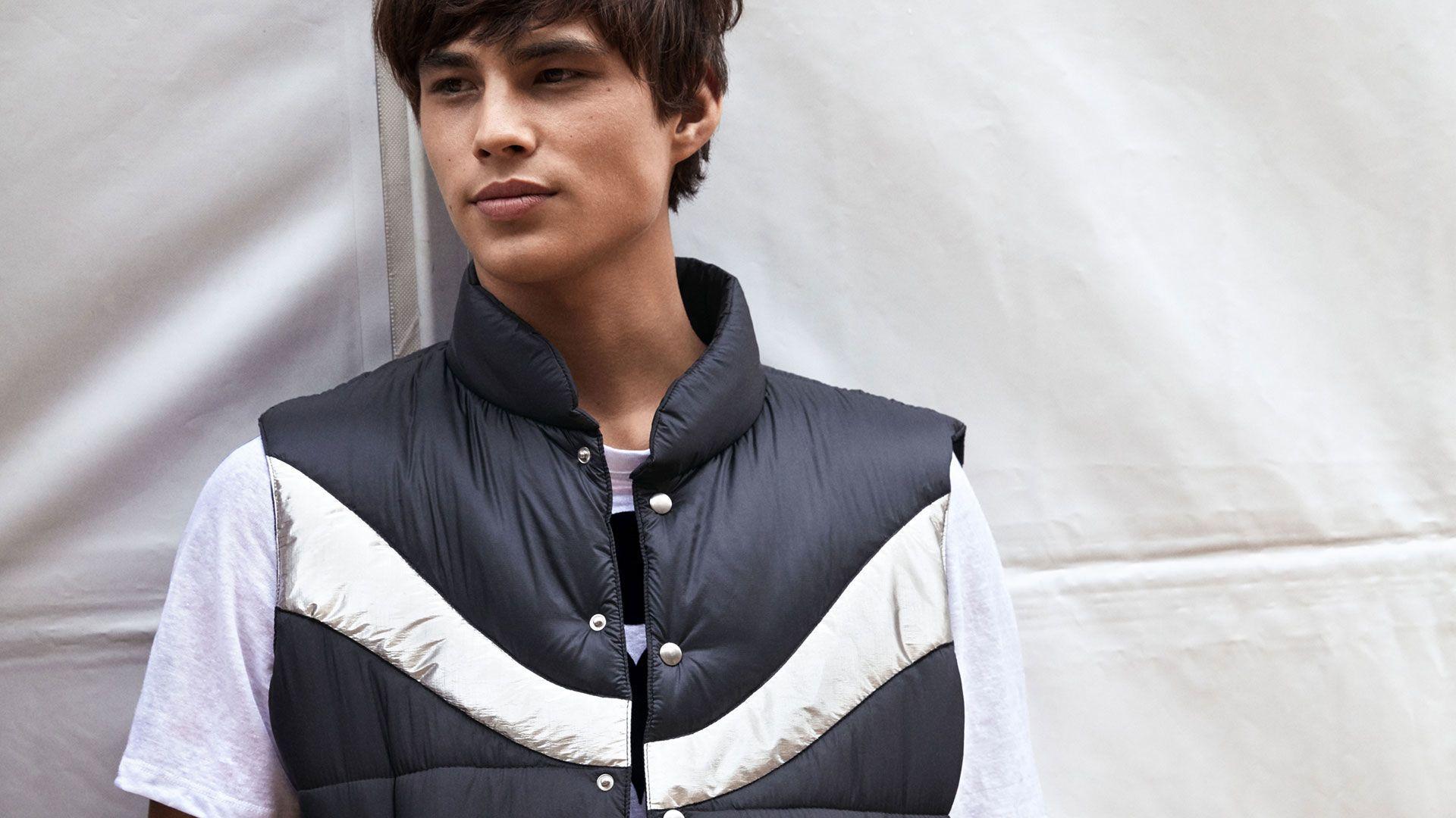Dream Sleeveless Puffer Jacket Sleeveless Puffer Isabel Marant Men [ 1080 x 1920 Pixel ]