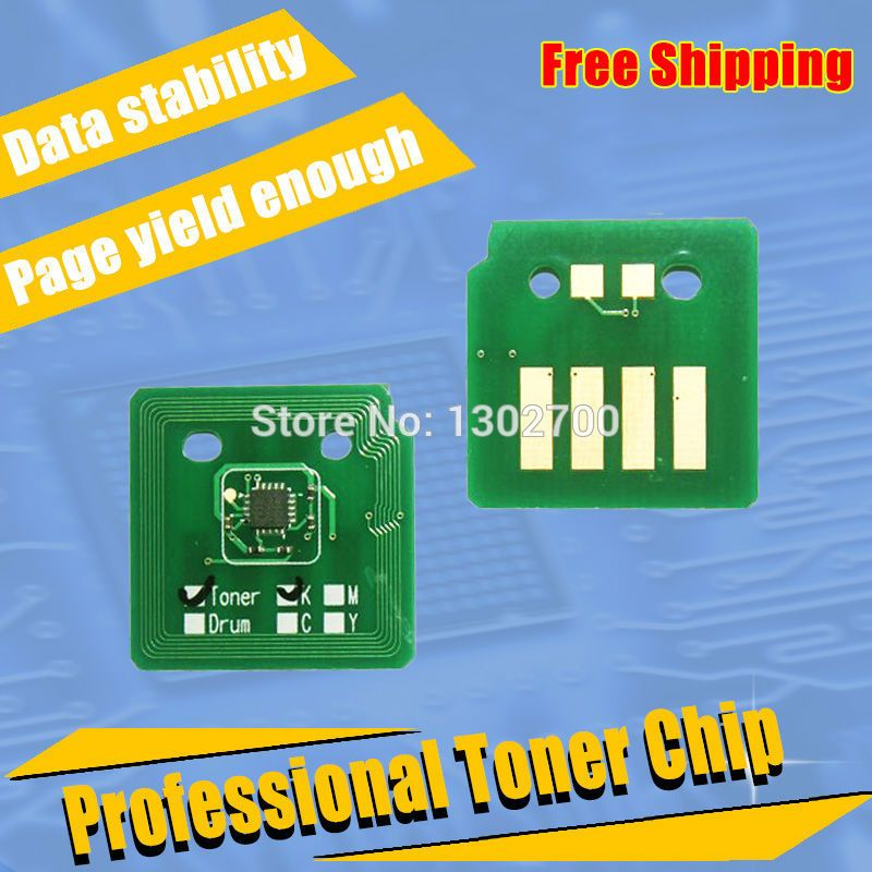 1set 006r01457 006r01460 006r01459 006r01458 Toner Cartridge Chip