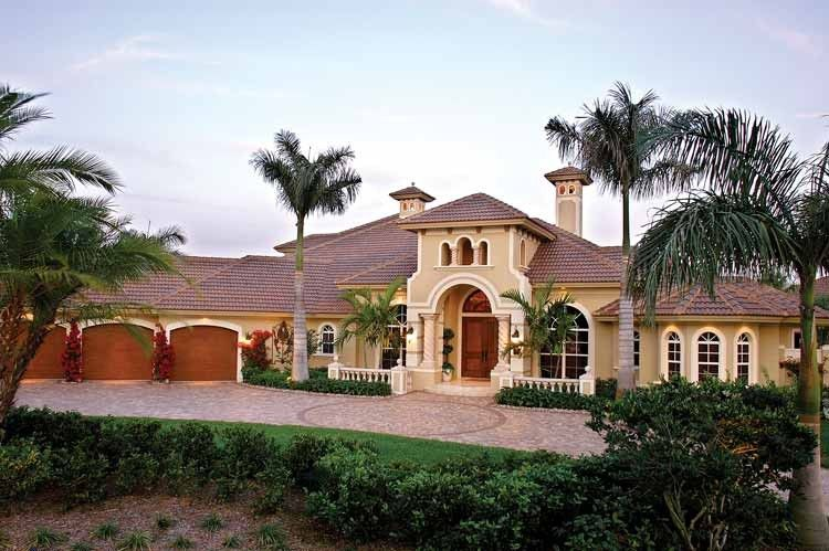 Eplans italianate house plan elegant heights 4403 for Elegant mediterranean homes