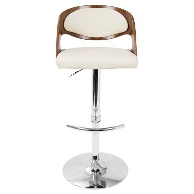 Enjoyable Pino Mid Century Modern Adjustable Barstool With Swivel Short Links Chair Design For Home Short Linksinfo