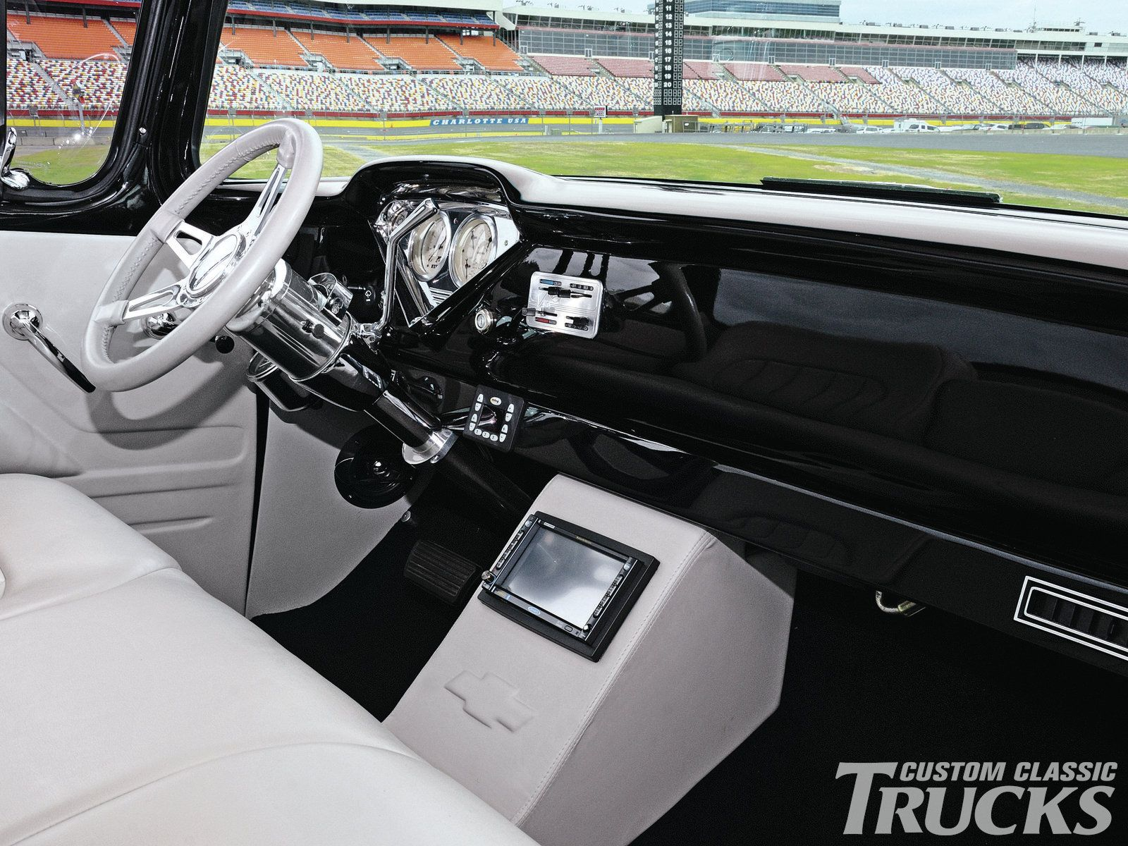 1955 Chevy Truck 1955 Chevrolet Truck Dash With Images