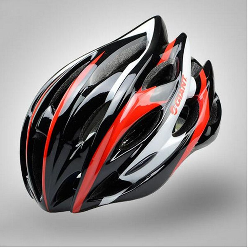 New Cycling Helmet Arrival Brand Professional Giant Bicycle Helmet Capacete Ciclismo Eps Pc 12 Colors Bike Helmet Clothing Shoes Jewelry Women Men Hats