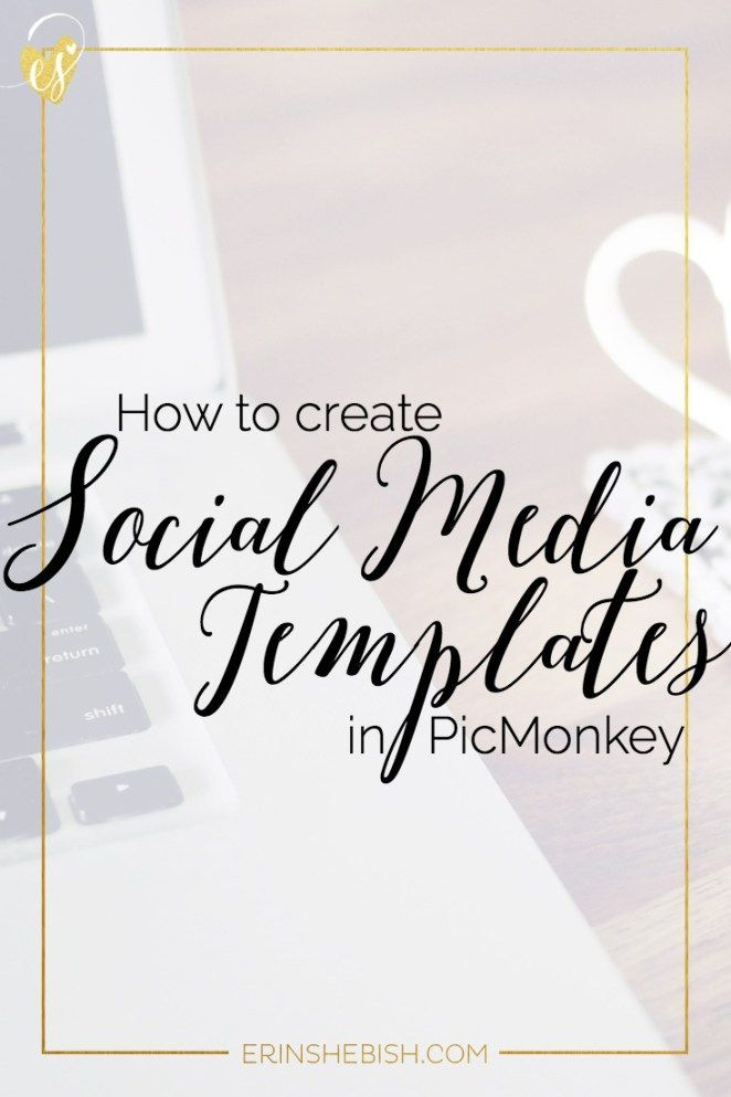 How to Create Social Media Template using PicMonkey | One of the easiest ways to…