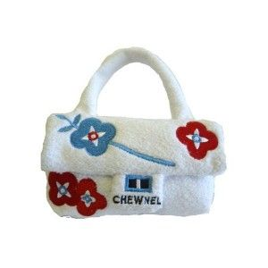 Your Pooch Will Love Chewing On This Designer Bag Toy Dog Toys