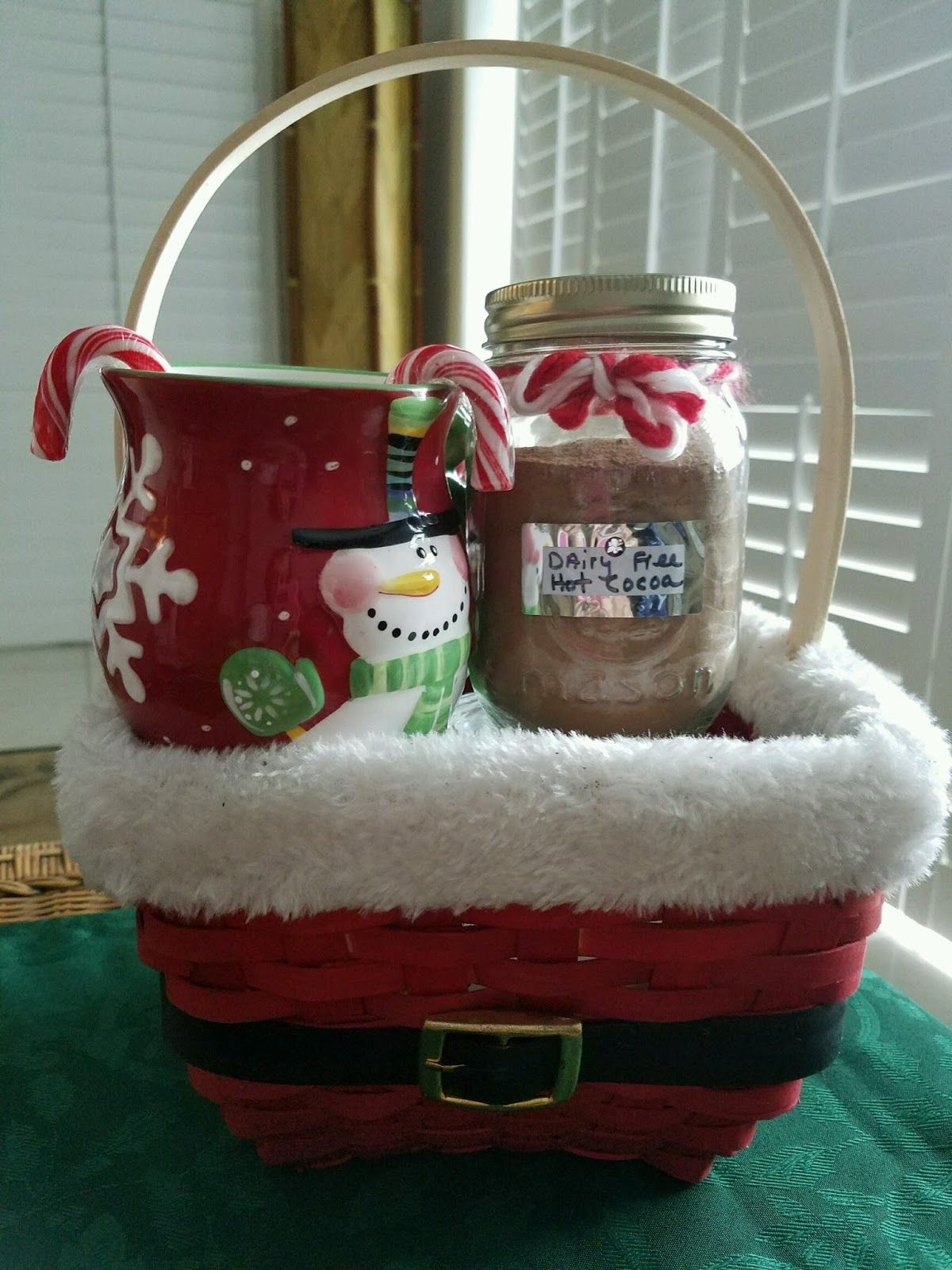 Dairy Free Hot Cocoa Dairy Free Cocoa Homemade Christmas Gifts