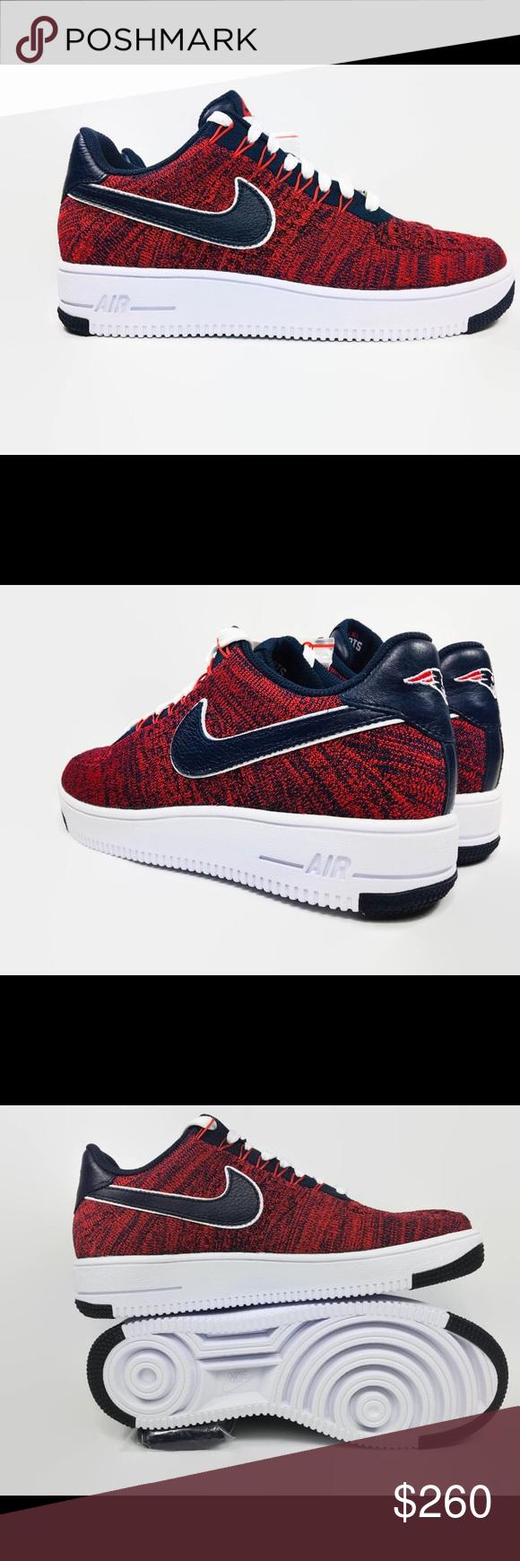 separation shoes d45ce 75173 Nike Shoes | Nike Af1 Flyknit Robert Kraft Patriots Size 8 ...