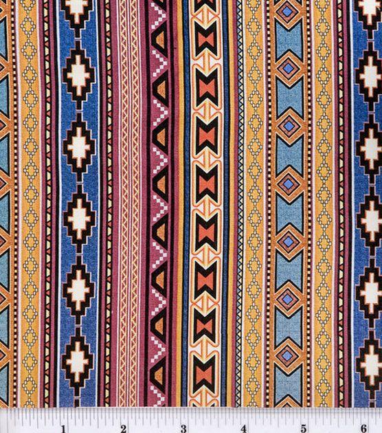 Jo-Ann Stores Novelty Cotton Fabric Southwest Stripe at Joann com