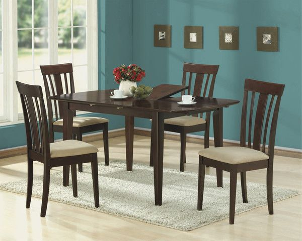 Monarch Cappuccino 36 X 60 Dining Table 12 Butterfly Leaf Extendable Dining Table Furniture Dining Table Dining Table