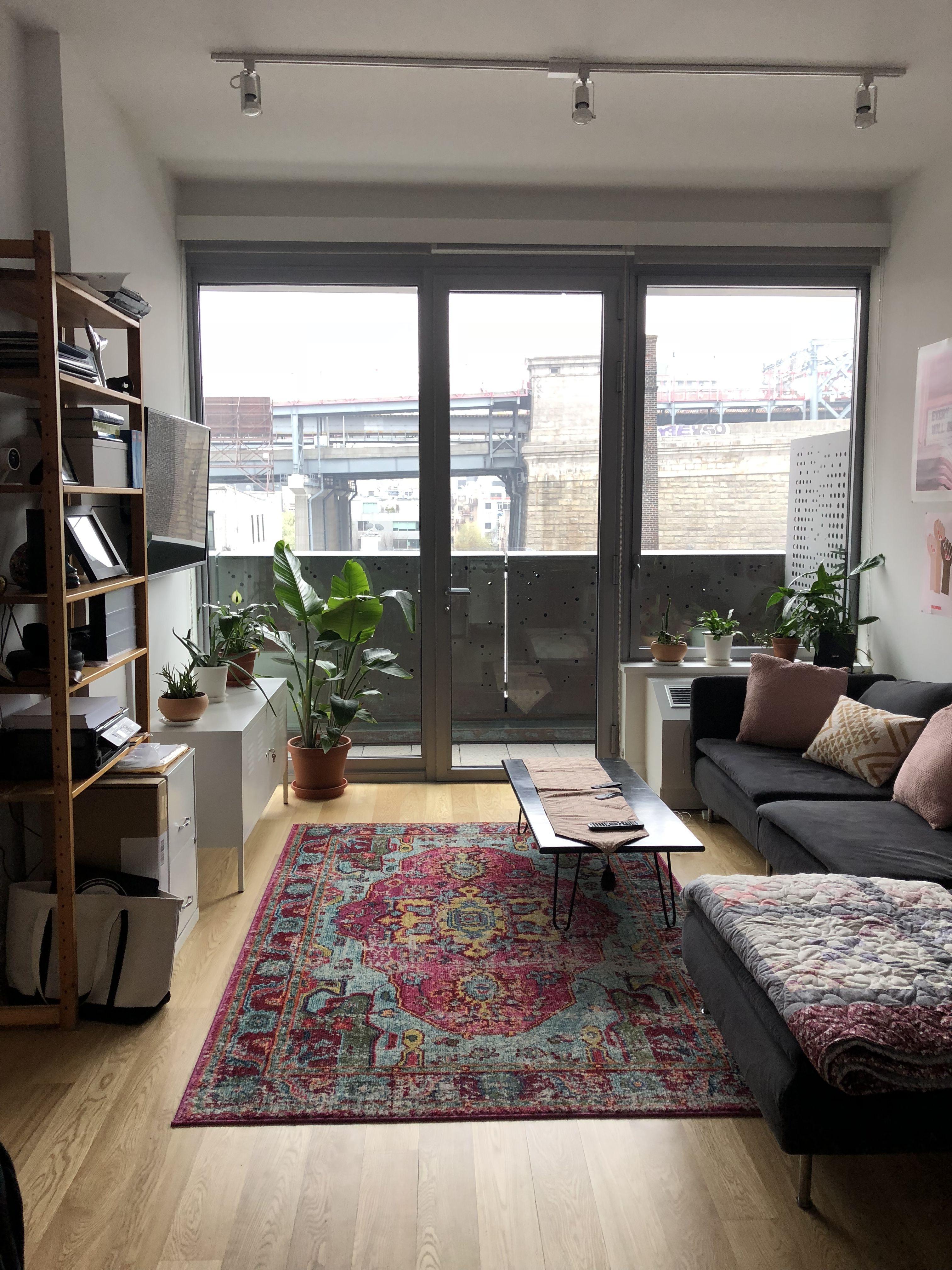 A Boho Minimalist Plant Lady's Brooklyn Rental   Home ...