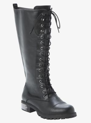 7503b354191 Finally found wide calf boots!!! Lace-Up Tall  Combat  Boots (Wide Width)  from  torrid