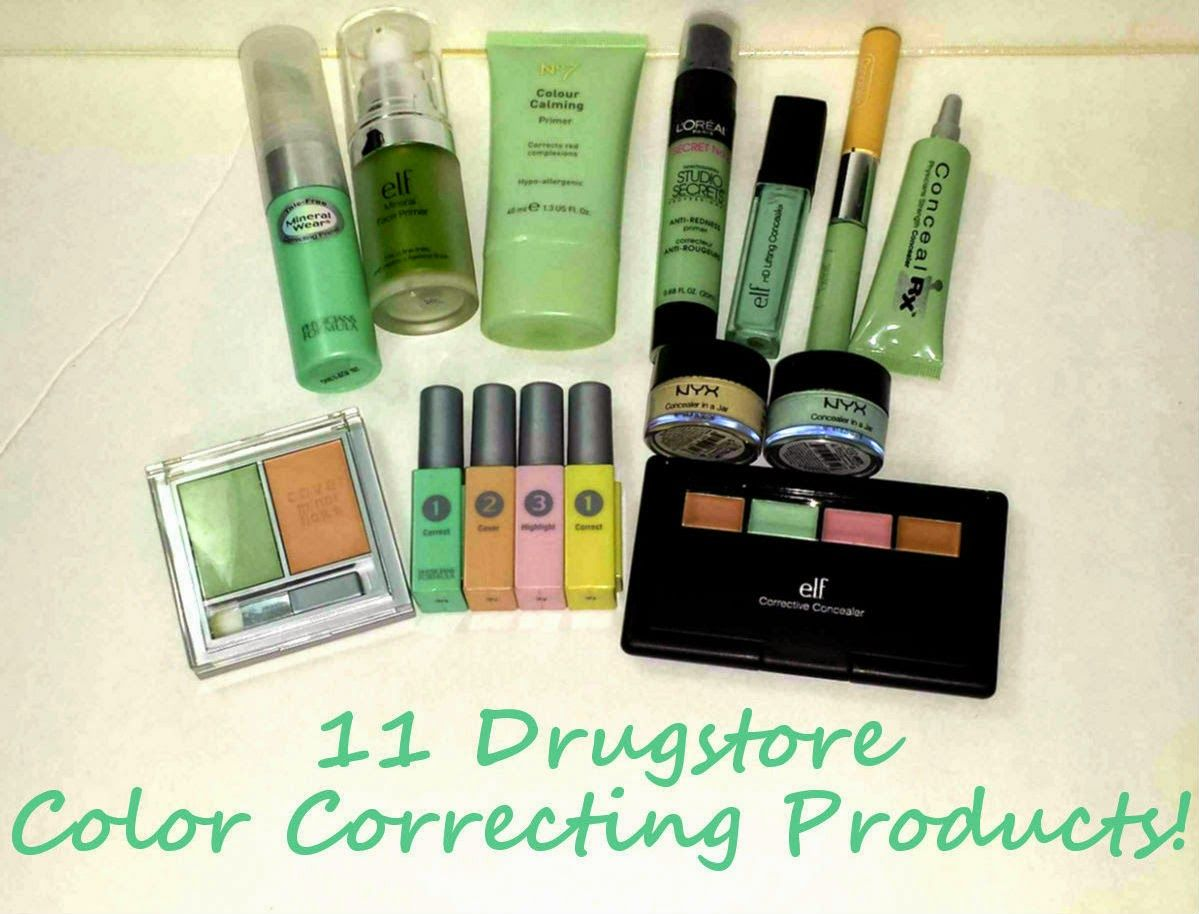 11 Drugstore Color Correcting & AntiRedness Products