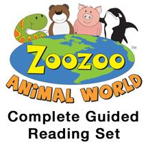 $510.00 Hameray Publishing - Developing Literacy Resources for Helping Children Learn to Read - Zoozoo Animal World Complete Guided Reading Set