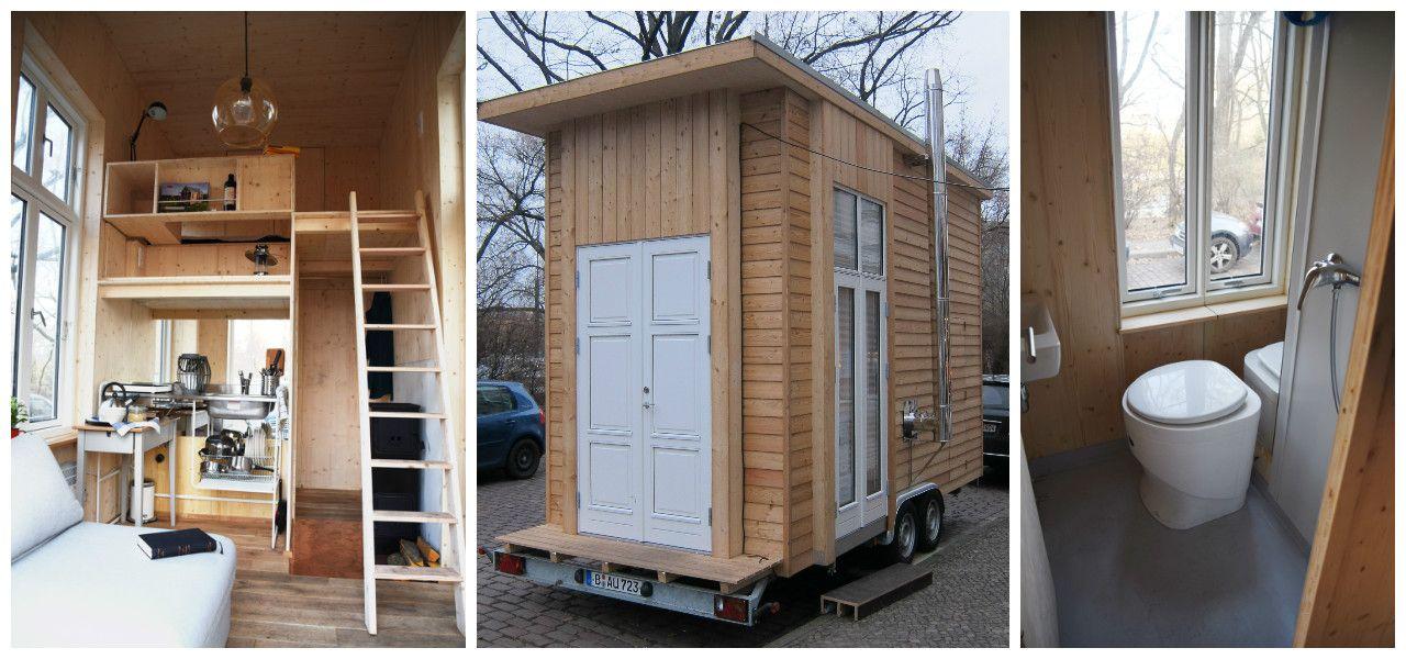 wohnen im 100 euro haus tiny houses pinterest haus wohnen und kleines h uschen. Black Bedroom Furniture Sets. Home Design Ideas