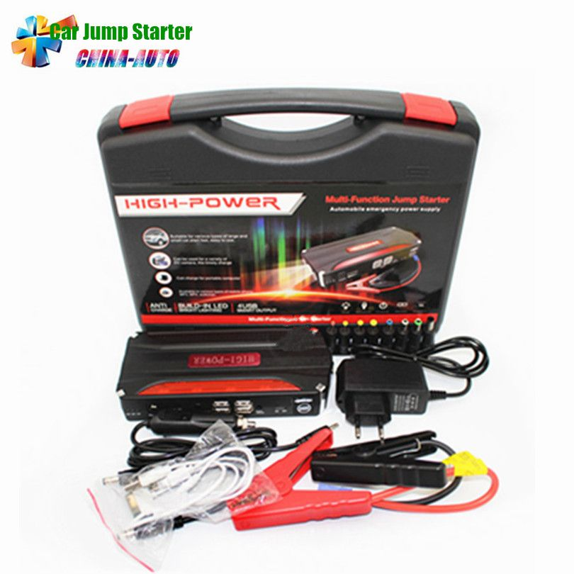 2017 Mini Multi Function Portable Car Charger Power Bank Emergency Auto Battery Booster Pack Vehicle Car Jump Starte Charger Car Jump A Car Battery Diesel Cars