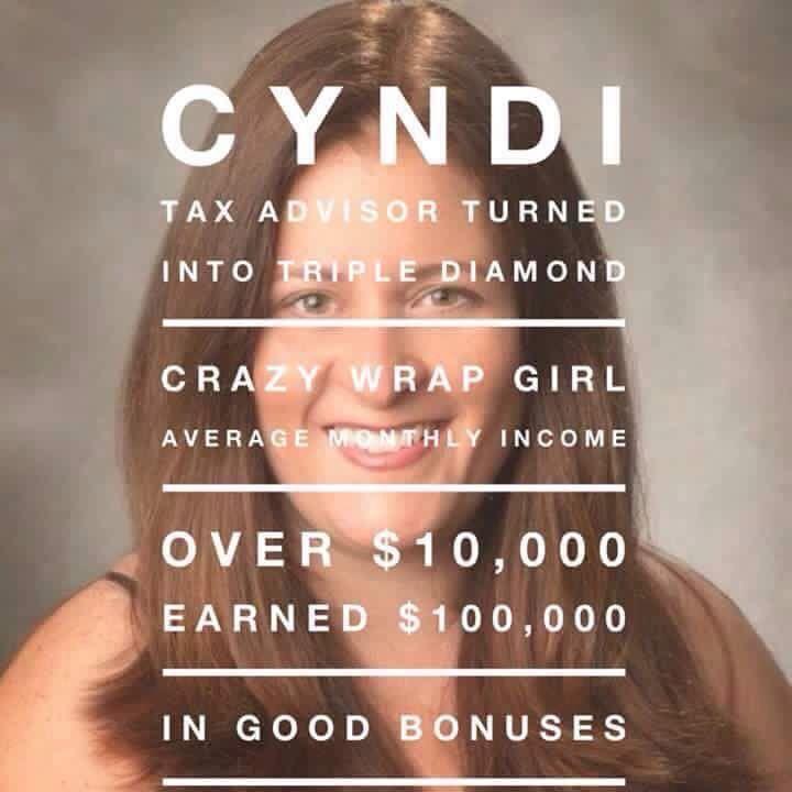 Tax advisor turned crazy wrap girl!