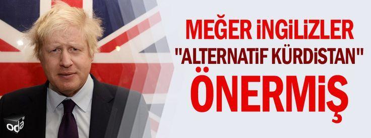 """Meğer İngilizler """"Alternatif Kürdistan"""" önermiş"""