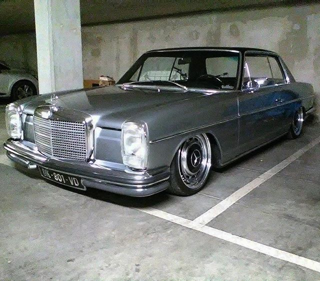 Mercedes Benz W114 Coupe Faustclassic Gentlemanschariot