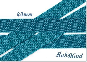 RuhrKind - Gurtband Türkis 40mm