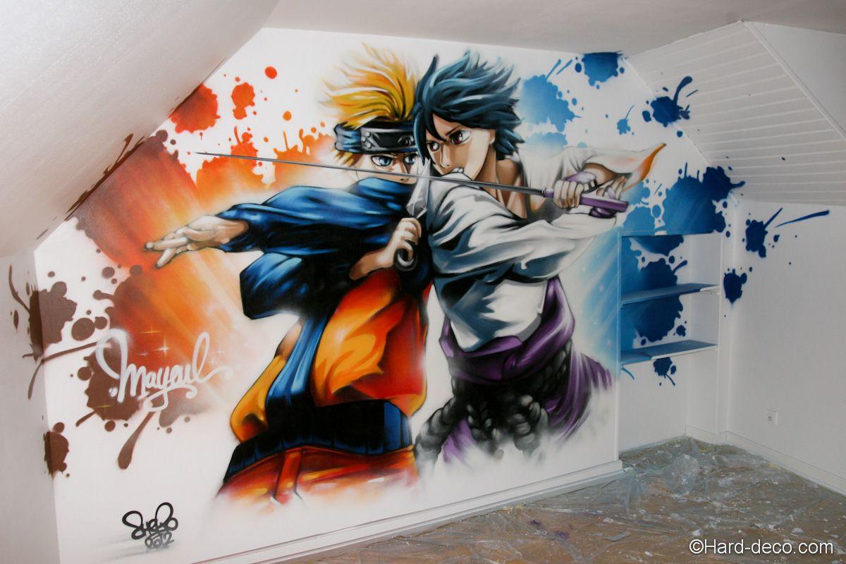52+ Gambar Grafiti Naruto Keren Gratis Terbaru