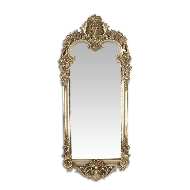 Details Zu Spiegel Wand Deko Barocker Stil Elegante Silberfarben