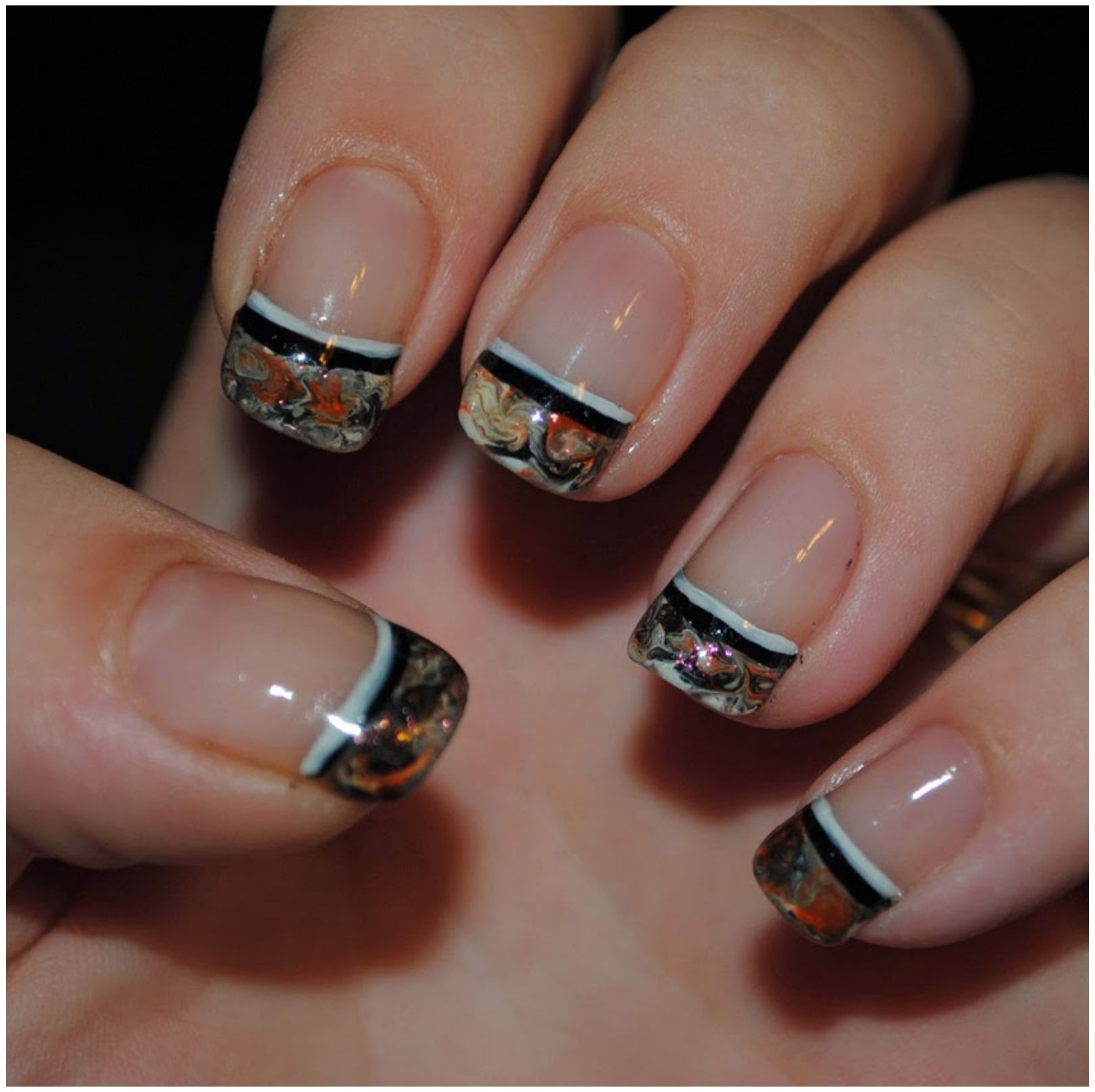 Find This Pin And More On Nails By Farrukhnawaz. Cool Nail Designs For Short  ...