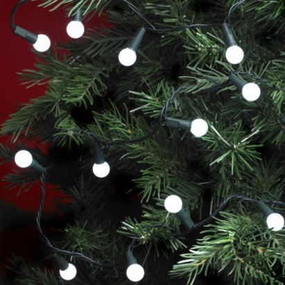 200 white berry led christmas lights 5052931239849