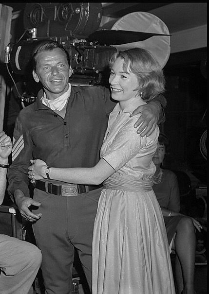 Shirley MacLaine and Frank Sinatra, 1962