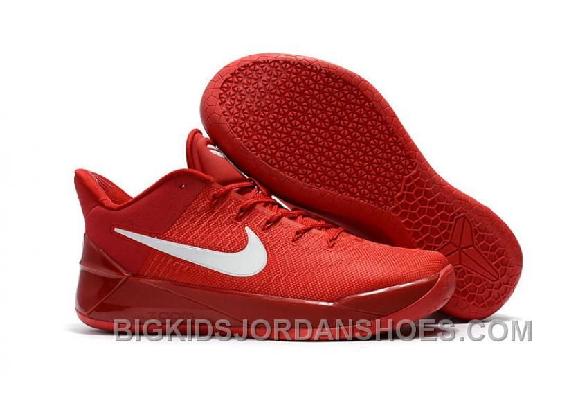 outlet store 0e120 ed577 Cheap Nike Kobe A.D. 12 Red Mamba All Red White Top Deals ...
