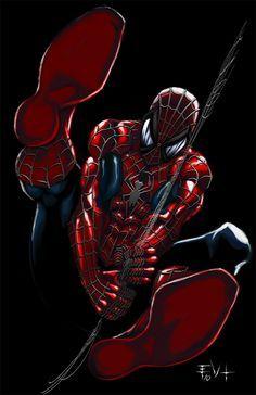 Spiderman Z by Erik Von Lehmann