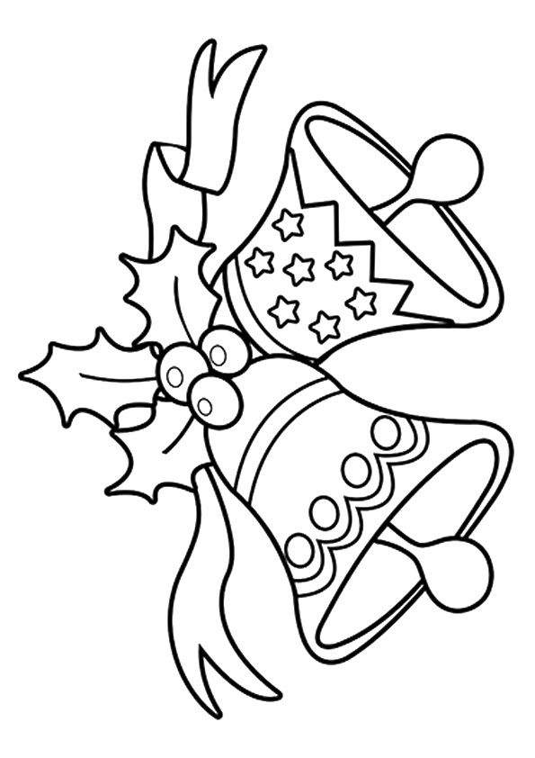 The-jingle-bells | Printable christmas coloring pages ...