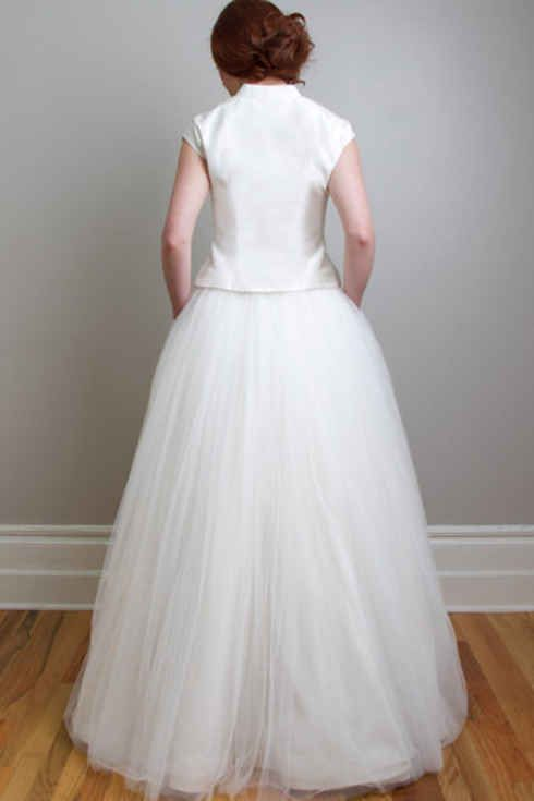 8ae8520618 36 Ultra-Glamorous Two-Piece Wedding Dresses   2 piece wedding ...