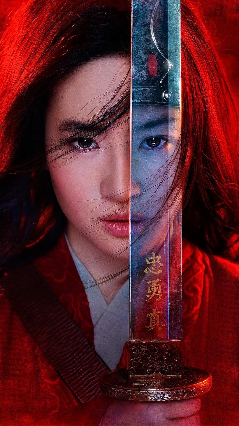 Mulan 2020 Phone Wallpaper Moviemania In 2020 Mulan Movie Mulan Mulan Disney